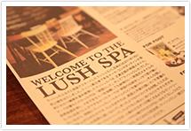 LUSH SPA様のサービス内容や特徴をお聞かせください